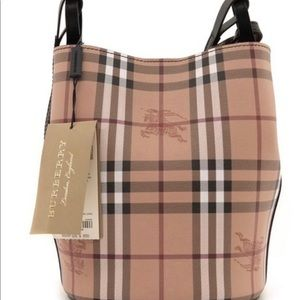 Burberry Small Lorne Leather Crossbody Authentic